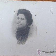 Fotografía antigua: ANTIGUA FOTOGRAFIA TARJETA POSTAL W. POLAK BARCELONA ESCRITA A JUMILLA MURCIA. Lote 34957234