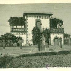 Fotografía antigua: CASA MODERNISTA - POSTAL FOTOGRÁFICA - 1920'S. Lote 35214388