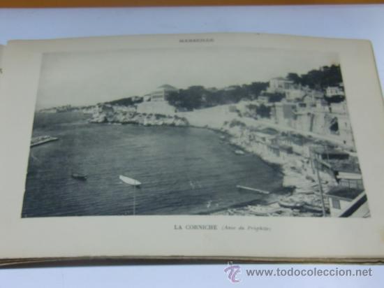 Fotografía antigua: Fotograbados antiguos de Marsella. Marseille Vistas artístias Photogravure E.L - Foto 2 - 35246778