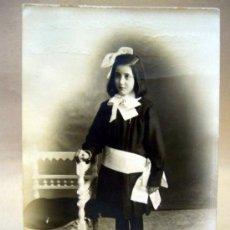 Fotografía antigua: TARJETA POSTAL, FOTOGRAFIA, CHICA, UNION UNIVERSAL, COMUNION. Lote 35460116