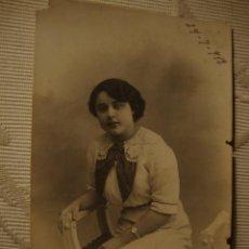 Fotografía antigua: ANTIGUA FOTOGRAFIA TARJETA POSTAL, ORIGINAL ES DE P.P.S.XX.. Lote 35429000