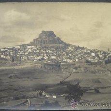 Fotografía antigua: VISTA GENERAL DE MORELLA. CASTELLÓN. FOTOGRAFIA. 14 X 9 CM. HACIA 1. Lote 35537374
