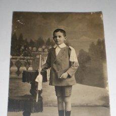Fotografía antigua: ANTIGUA POSTAL FOTOGRÁFICA. FOTÓGRAFOS HERMANOS MORENO (SEVILLA).. Lote 35917475