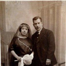 Fotografía antigua: FOTO ANTIGUA - TARJETA POSTAL - SELLO FOTO GUZMÁN, VALENCIA - AÑO 1924. Lote 36046736