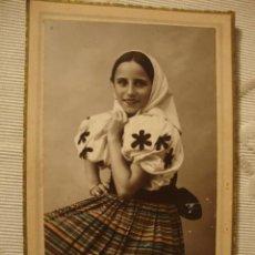 Fotografía antigua: ANTIGUA FOTOGRAFIA TARJETA POSTAL EN CARTON, ESTADO ORIGINAL 100X100 CA.1920. Lote 36177538