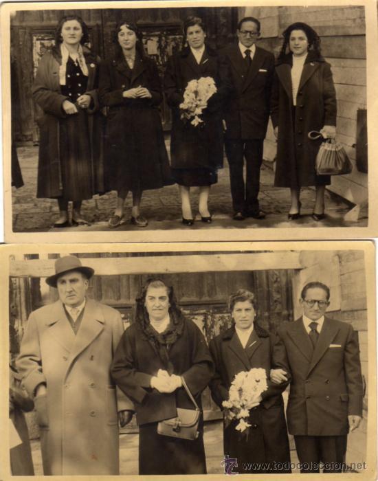 BODA EN BURGOS ( 1 ) (Fotografía Antigua - Tarjeta Postal)