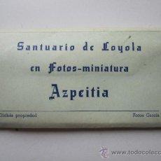 Fotografía antigua: FOTOGRAFIAS EN MINIATURA SANTUARIO DE LOYOLA AZPEITIA . Lote 37075604
