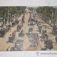 Fotografía antigua: ANTIGUA POSTAL FOTOGRÁFICA. SEVILLA - EL PASEO. GRAN AMBIENTE. TOMAS SANZ. PRINCIPIO S. XX.. Lote 37111652