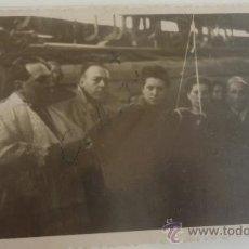 Fotografía antigua: FOTOGRAFIA DE UNA INAUGURACIÓN BARCO, VIGO AÑO 1947. Lote 37434336