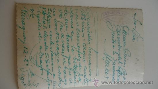 Fotografía antigua: FOTOGRAFIA DE UNA INAUGURACIÓN BARCO, VIGO AÑO 1947 - Foto 2 - 37434336