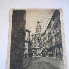 Fotografía antigua: VALLADOLID. CALLE DE SANTIAGO. TARJETA POSTAL CIRCULADA. 14 X 9 CM. LA DE LA FOTO. Lote 37466970
