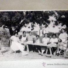 Fotografía antigua: FOTOGRAFÍA ANTIGUA. TARJETA POSTAL. FAMILIA. VEDAT. TORRENTE. VALENCIA. 1920S. Lote 37666292