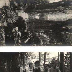 Fotografía antigua: 3 FOTOGRAFIAS DE CARLOS NYSSEN. BADALONA. ESCENAS COTIDIANAS. CA. 1960. 9X14 CM.. Lote 38585135
