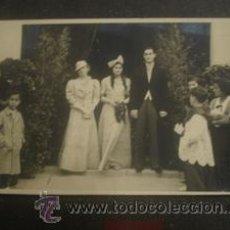 Alte Fotografie - TARJETA POSTAL OCTUBRE DE 1935 BODA - 38858832