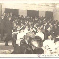 Fotografía antigua: PS0317 POSTAL FOTOGRÁFICA TOMADA EN AIGUAFREDA (GIRONA) EN 1921. CIRCULADA. Lote 39086594