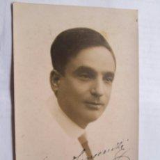Fotografía antigua: AUTOGRAPHED PHOTO - FOTO DEDICADA. . PHOTO DÉDICACÉE - ARTISTA, ARTIST, BALDO MONTEVIDEO 1922. Lote 39945268