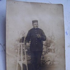 Fotografía antigua: FOTOGRAFIA ANTIGUA DE MILITAR ESPAÑOL DE CAZADORES DE ALFONSO XIII ... Lote 40021759