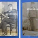 Fotografía antigua: FOTOGRAFIAS DE 1912 MARINERO LAS PALMAS LAYA APRENDIZ UNIFORME MILITAR MARINEROS. Lote 40135381