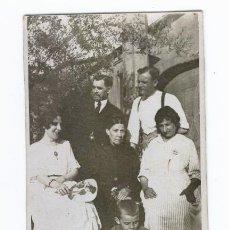 Fotografía antigua: ANTIGUA TARJETA POSTAL - FOTO FAMILIAR. Lote 40551466