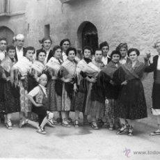 Fotografía antigua: FOTO POSTAL DE BARBASTRO, HUESCA. FOTO SALAS. AÑOS 40-50. Lote 40597439
