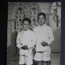 Fotografía antigua: FOTO TARGETA POSTAL. Lote 40924196