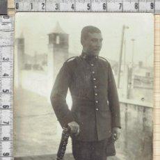 Fotografía antigua: FOTO SOLDADO ARTILLERIA 1920-30.. Lote 41097749