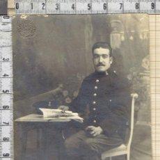 Fotografía antigua: FOTO POSTAL SOLDADO INGENIEROS-1910-20.. Lote 41098334