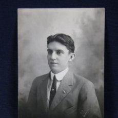 Fotografia antiga: TARJETA POSTAL FOTOGRAFÍA CUBANO DEDICADA REVERSO 1916 FOTÓGRAFO A. MARTINEZ GALIANO HABANA CUBA. Lote 41106383