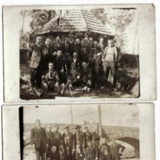 Fotografía antigua: LOTE DE DOS POSTALES FOTOGRAFIAS DE RETRATO EN VIC EN 1926 - SIN CIRCULAR.. Lote 41110137
