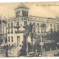 Fotografía antigua: SEVILLA HOTEL ALFONSO XIII. Lote 41564094
