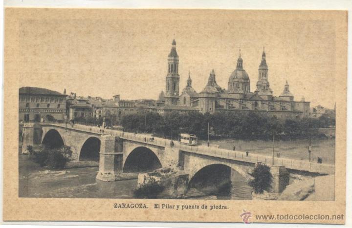 ZARAGOZA (Fotografía Antigua - Tarjeta Postal)