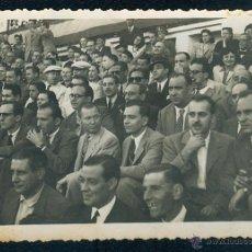 Fotografía antigua: POSTAL 1310 PLAZA DE TOROS DE FIGUERAS FIGUERES 30 09 1945 PÚBLICO GENTE AFICIÓN TORO. Lote 41712983