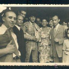 Fotografía antigua: POSTAL 1311 TORERO CARLOS ARRUZA 24 09 1940 FOTOS MATEO TOROS TORO. Lote 41713030
