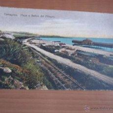 Fotografía antigua: POSTAL DE TARRAGONA COLOREADA DE FINALES XIX. Lote 42080483