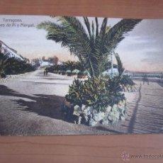Fotografía antigua: POSTAL DE TARRAGONA COLOREADA DE FINALES XIX. Lote 42080603