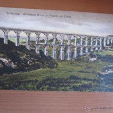 Fotografía antigua: POSTAL DE TARRAGONA COLOREADA DE FINALES XIX. Lote 42083031