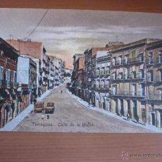 Fotografía antigua: POSTAL DE TARRAGONA COLOREADA DE FINALES XIX. Lote 42083840