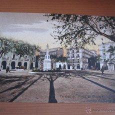 Fotografía antigua: POSTAL DE TARRAGONA COLOREADA DE FINALES XIX. Lote 42084208