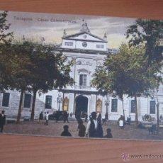 Fotografía antigua: POSTAL DE TARRAGONA COLOREADA DE FINALES XIX. Lote 42084583