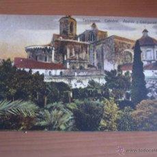 Fotografía antigua: POSTAL DE TARRAGONA COLOREADA DE FINALES XIX. Lote 42084614