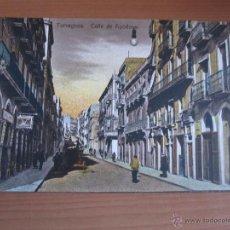 Fotografía antigua: POSTAL DE TARRAGONA COLOREADA DE FINALES XIX. Lote 42084671