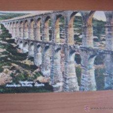 Fotografía antigua: POSTAL DE TARRAGONA COLOREADA DE FINALES XIX. Lote 42084788