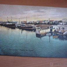 Fotografía antigua: POSTAL DE TARRAGONA COLOREADA DE FINALES XIX. Lote 42084899