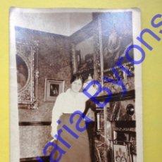 Fotografía antigua: TARJETA POSTAL ANTIGUA. MUJER. Lote 42450130