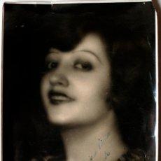 Fotografía antigua: FOTOGRAFIA FIRMADA POR AMPARITO MIGUEL ANGEL, DEDICADA A ENRIQUE VILELLA . Lote 42500104