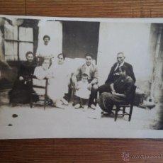 Fotografía antigua: ANTIGUA FOTOGRAFIA TARGETA POSTAL.. Lote 42888531