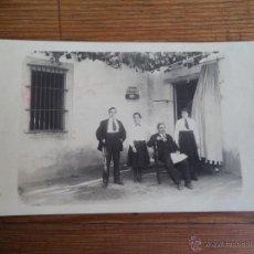 Fotografía antigua: ANTIGUA FOTOGRAFIA TARGETA POSTAL.. Lote 42888588