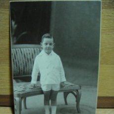 Fotografía antigua: RETRATO DE NIÑO - FOTO OLYMPIA - BARCELONA. Lote 43224941