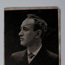 Fotografía antigua: MUY ANTIGUA POSTAL DE IRIBARNE LUIGI, DIRIGIDA A ANTONIO PIÑA, AYUNTAMIENTO PALMA. Lote 43808791