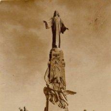 Fotografía antigua: MONUMENTO NACIONAL, SAGRADO CORAZON DE JESUS, CERRO DE LOS ANGELES, GETAFE. Lote 43876590